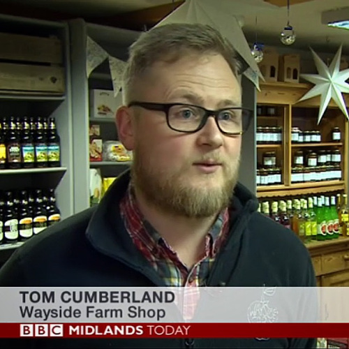 Tom Cumberland on Midlands Today